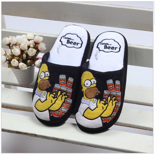 Pánské bačkory Homer Simpson / nz30m-00001