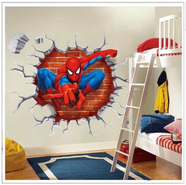 Samolepící tapeta Spiderman 45 x 50 cm / AS1-00094