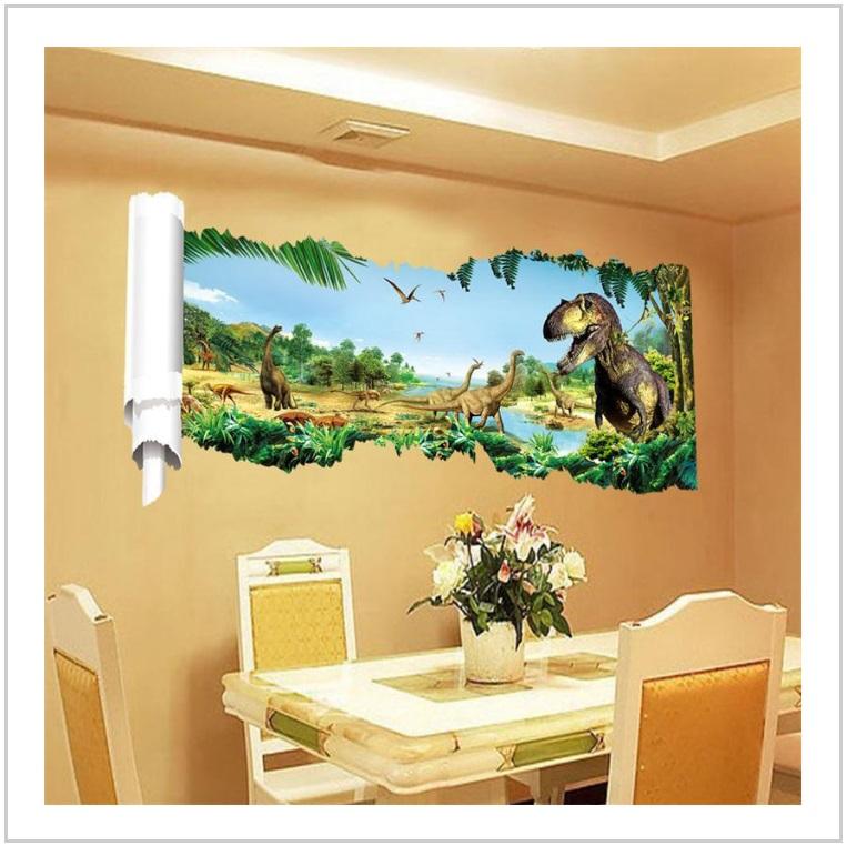 Samolepící tapeta - Dinosaurus (90 x 46 cm) / AS1-00097
