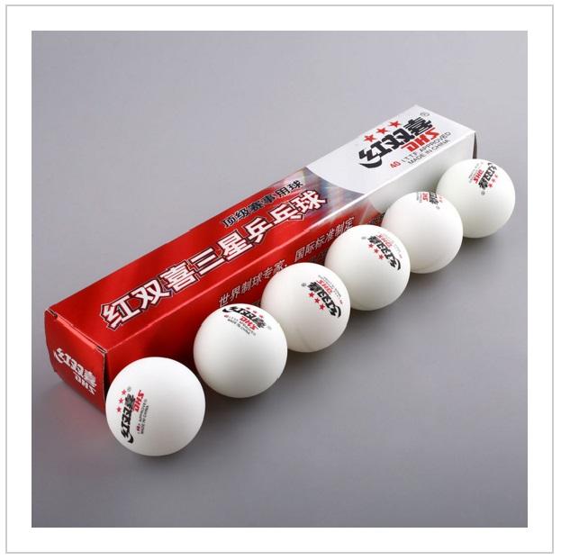 Profesionální míčky na stolní tenis (6 ks)