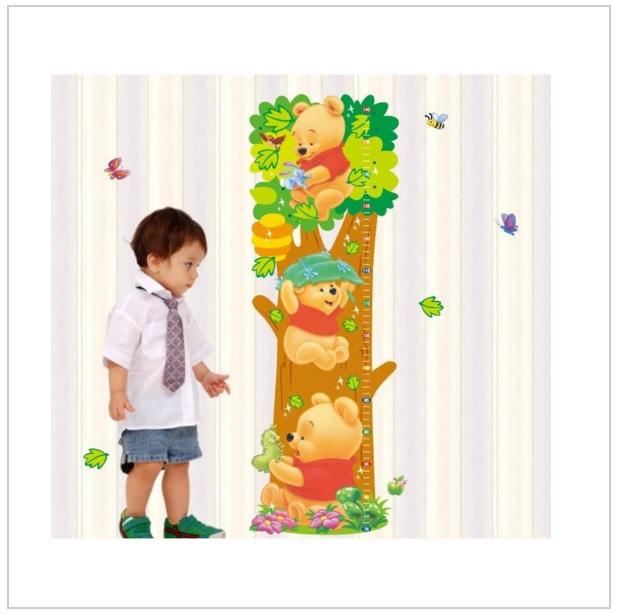 Samolepka na zeď - Medvídek Pú / d011-00013
