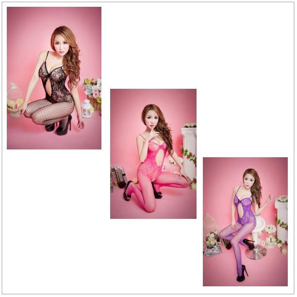 Erotické krajkové prádlo / 12Dn-00010