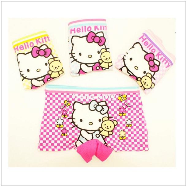 Dívčí kalhotky - Hello Kitty / dnk-09d-00024