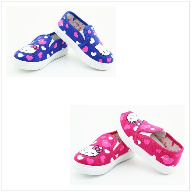 Dětské bačkory - Hello Kitty / dnk-09d-00048