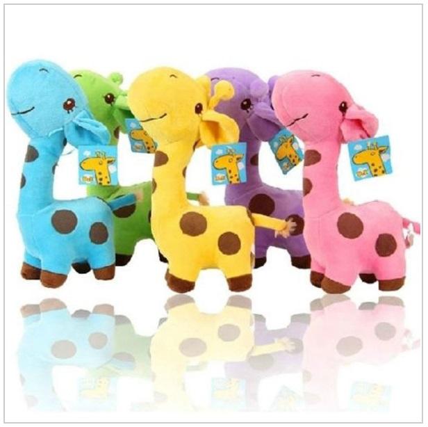 Dětská plyšová hračka - Žirafa / tnk-13-01762a