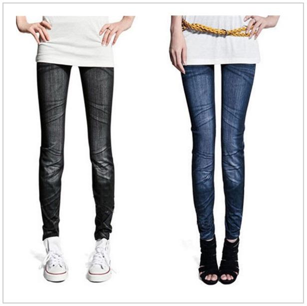 Dámské strečové džíny / dnk-09z-00021