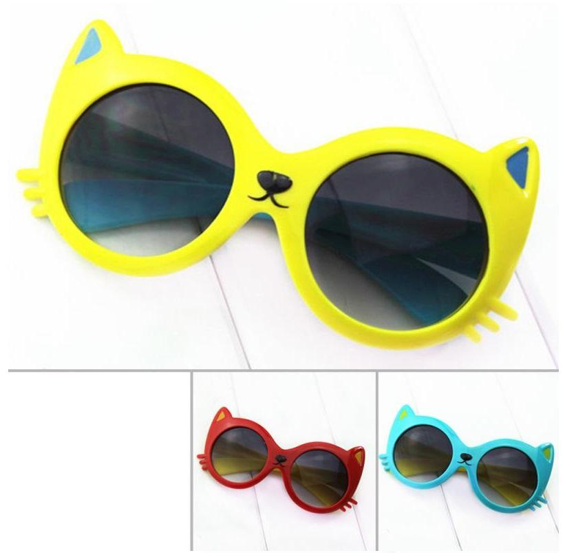 Dětské sluneční brýle - Kočka / dnk-08d-00010