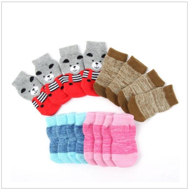 Ponožky pro psy (4 ks) / dnk-13-00049