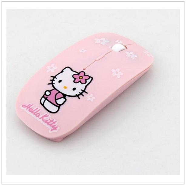 Bezdrátová myš - Hello Kitty / tnk-13-00404