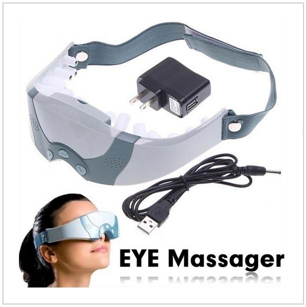 Elektrický masážní přístroj očí