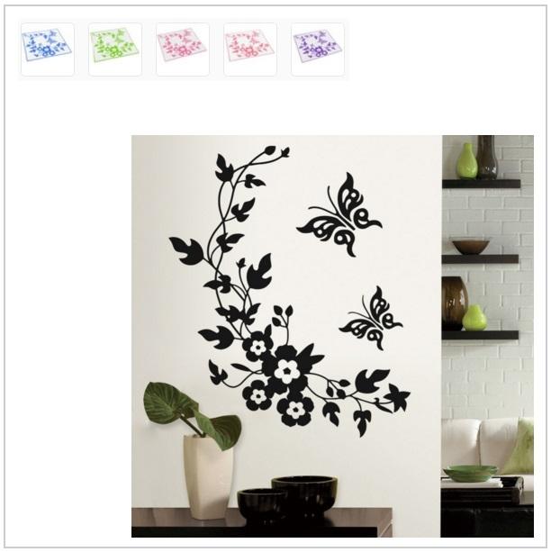 Nástěnná dekorace - Motýli / tnk-13-00742