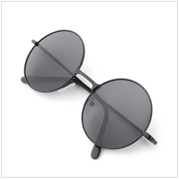 Unisex retro sluneční brýle / dnk-13-00204