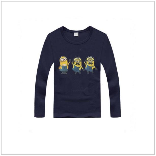 Dětské triko s dlouhým rukávem Mimoň - Dark blue