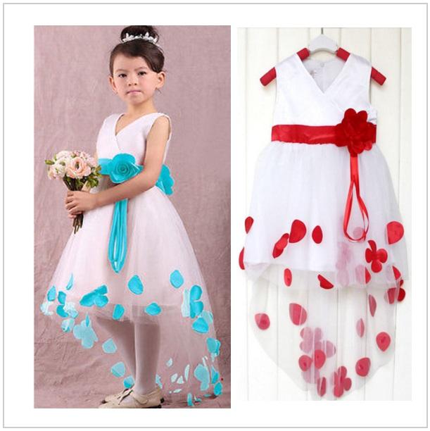 Dětské šaty - modré / dnk-13-00447
