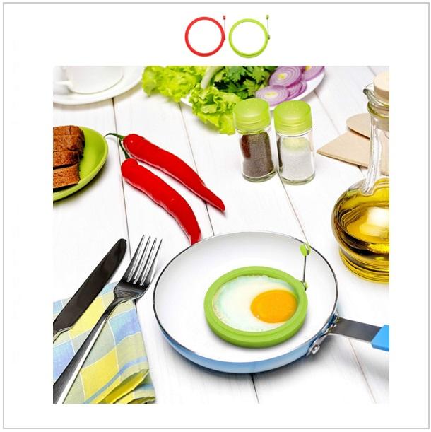 Silikonová formička na vajíčka & palačinky / dnk-13-00663