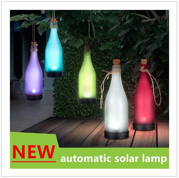 Automatická solární lampa / tnk-13-016