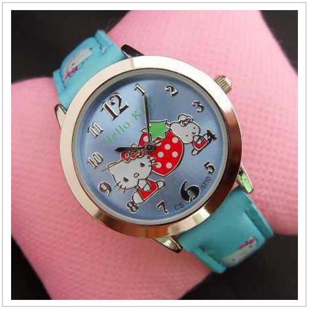 Dětské hodinky - Hello Kitty / tnk-13-01734d