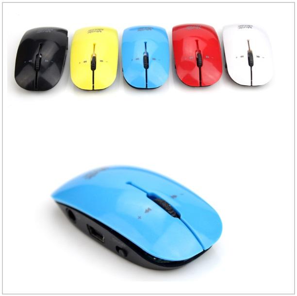 USB & MP3 přehrávač - myš / tnk-13-02037