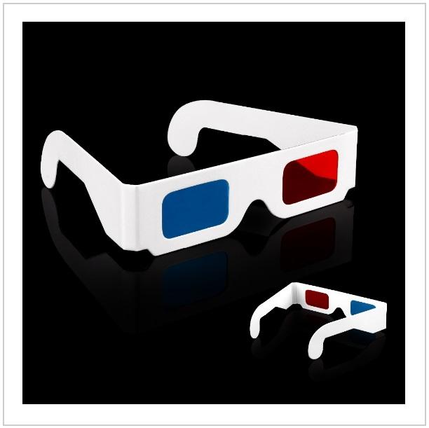 Papírové 3D brýle (2 ks) / tnk-13-02043