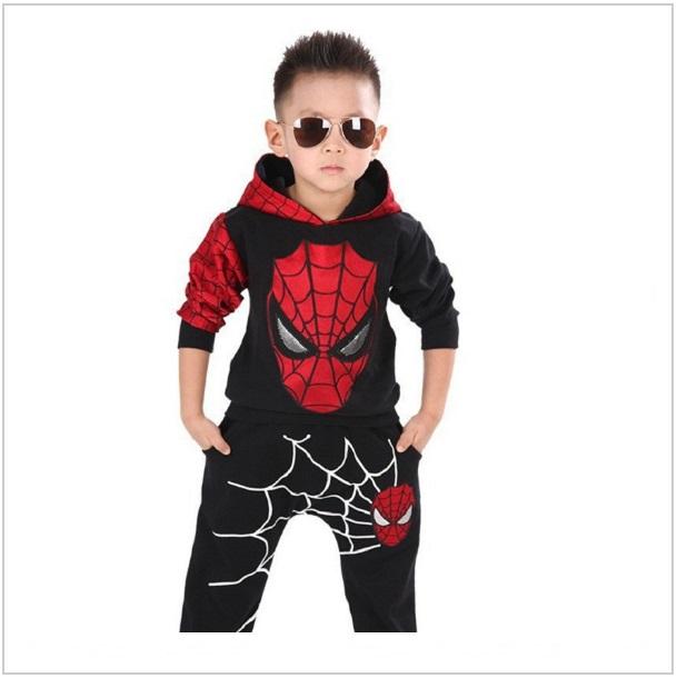 Dětská tepláková souprava - Spiderman / dnk-13-00993b
