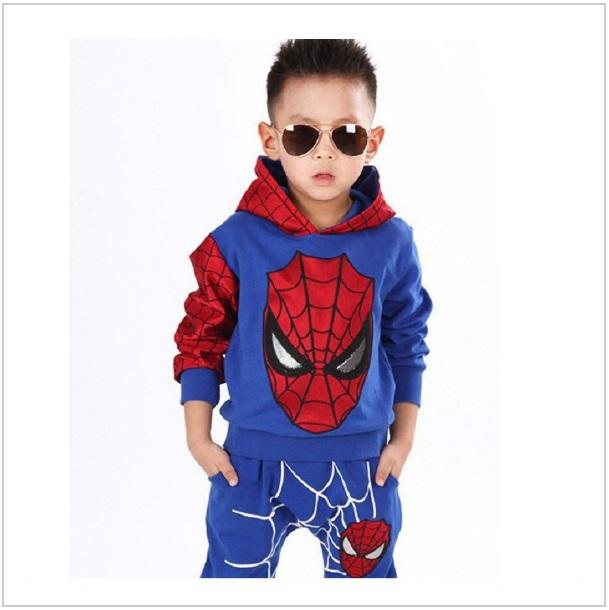 Dětská tepláková souprava - Spiderman / dnk-13-00993a