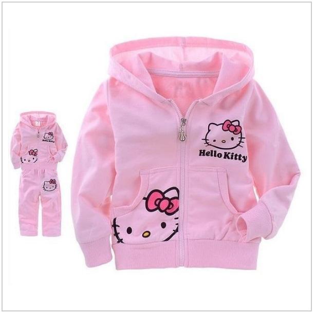 Dětská souprava - Hello Kitty / dnk-13-01020a