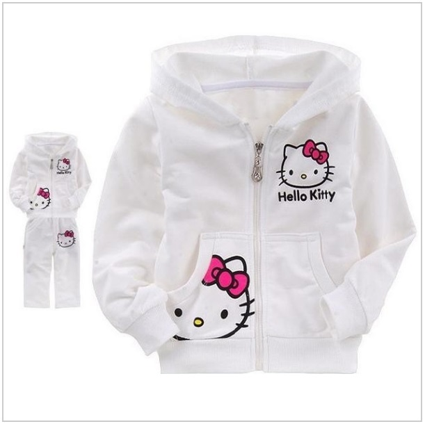 Dětská souprava - Hello Kitty / dnk-13-01020b