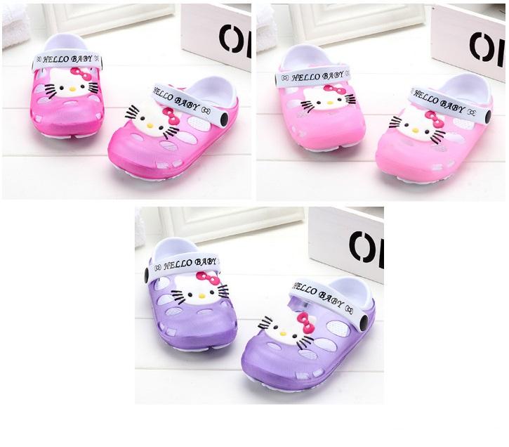 Dětské pantofle - Hello Kitty / dnk-13-01104