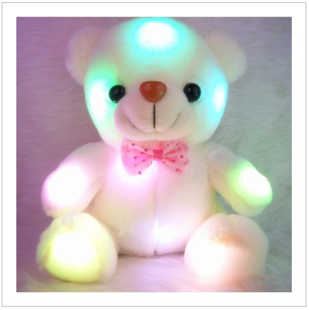 Plyšová hračka - svítící medvídek / dnk-13-01149