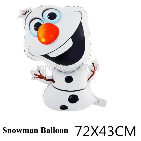 Nafukovací Sněžný muž 72 x 43 cm