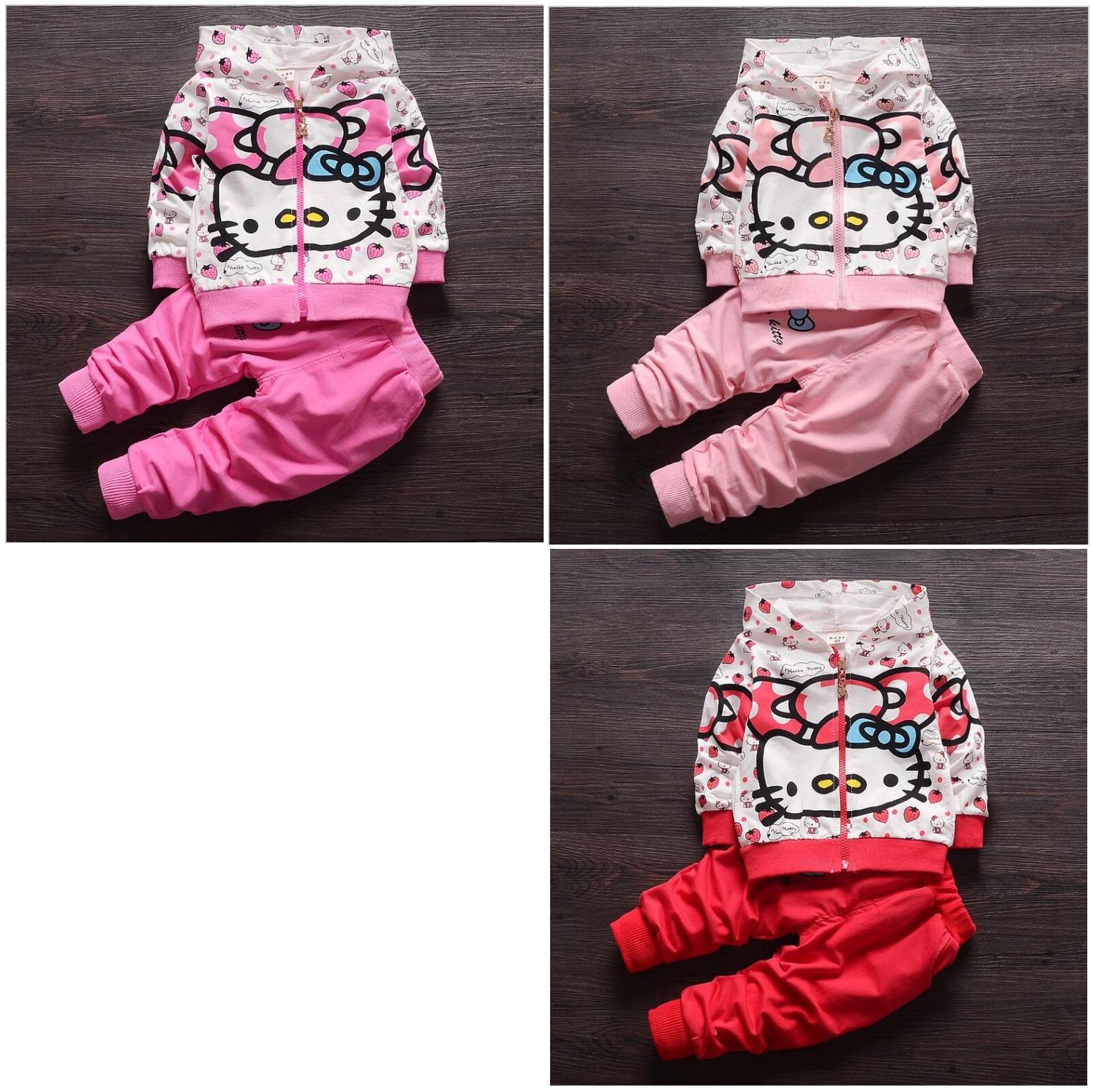 Dětská tepláková souprava - Hello Kitty / dnk-13-01245