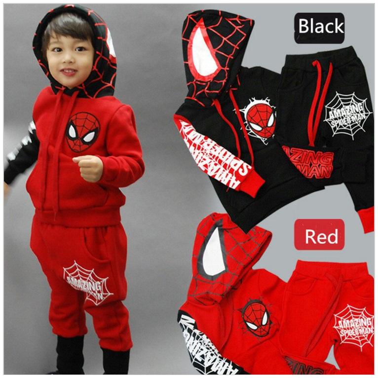 Dětská tepláková souprava - Spiderman / dnk-13-01277