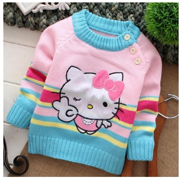 Dětský svetr - Hello Kitty / dnk-13-01286b