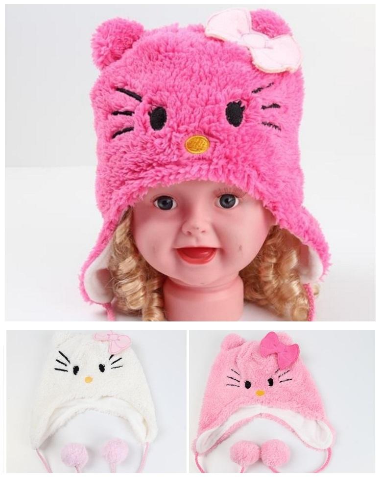 Dětská čepice - Hello Kitty / dnk-13-01371