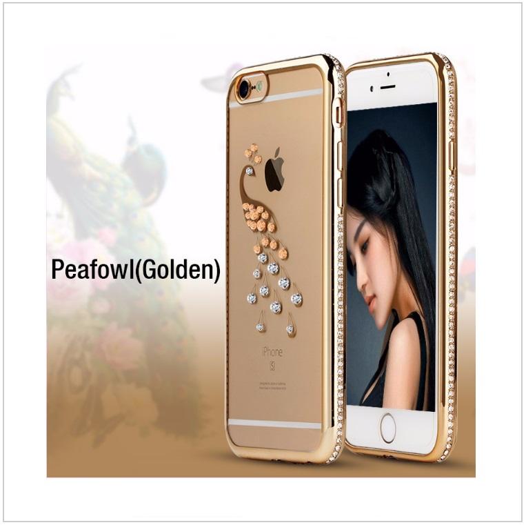 Pouzdro na mobil iPhone - Páv / tnk-13-02326b