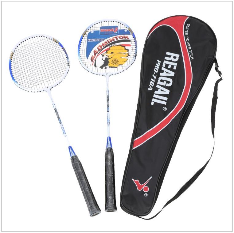 Badmintonové rakety (2 ks + bag) / tnk-13-02441