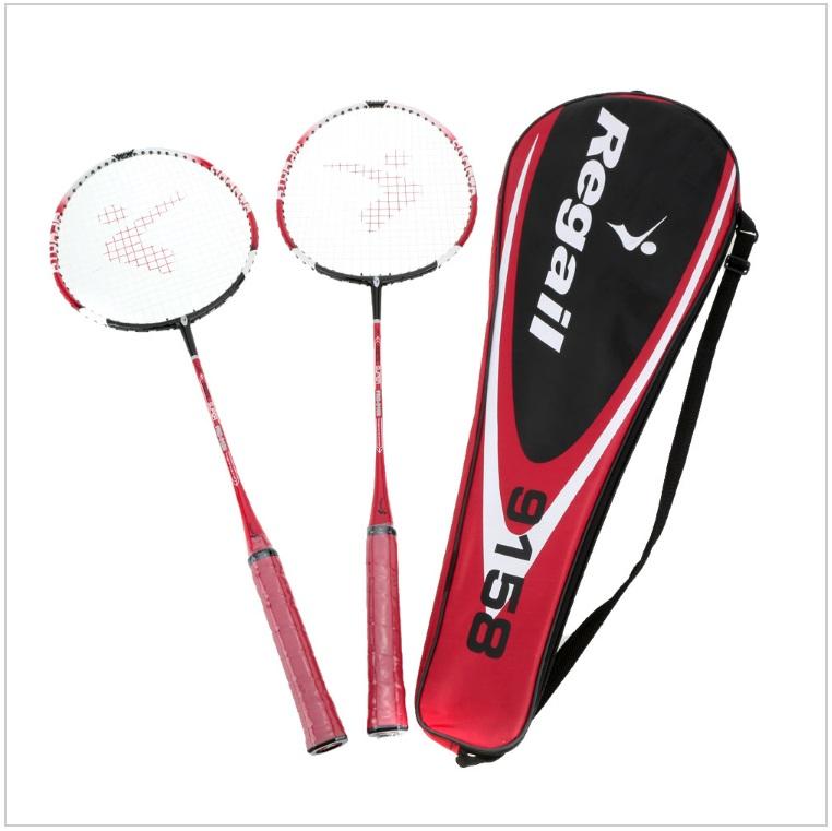 Badmintonové rakety - červené (2 + bag) / tnk-13-02442b