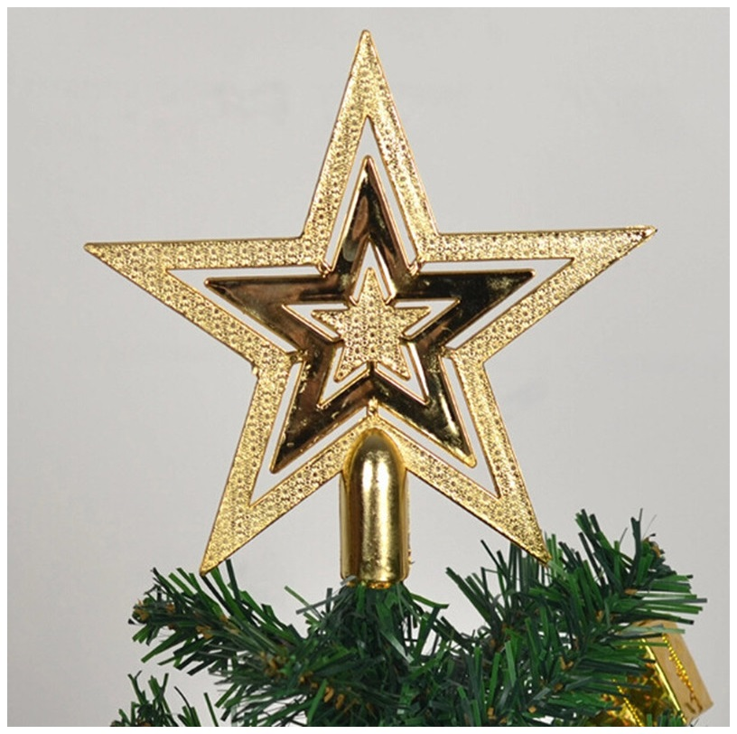 Vánoční hvězda na stromeček / dnk-13-01500