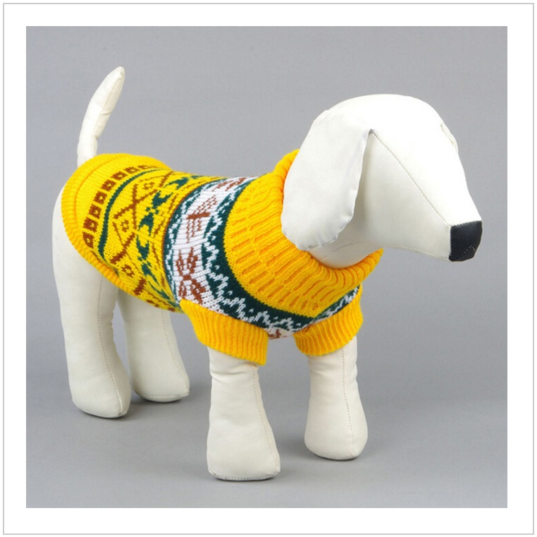 Pletený svetr pro psy / tnk-13-02506