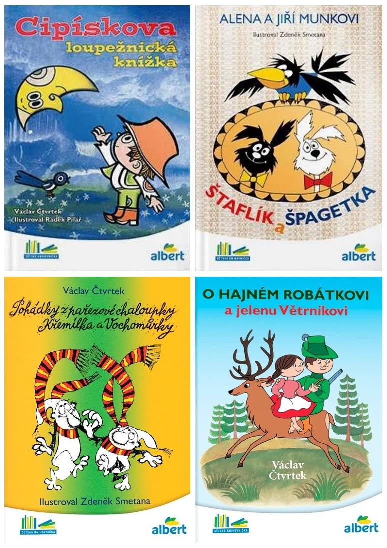 Dětské pohádky (4 ks) / tnk-13-02525a
