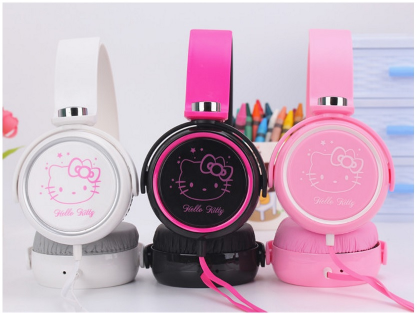 Sluchátka - Hello Kitty / dnk-13-01534