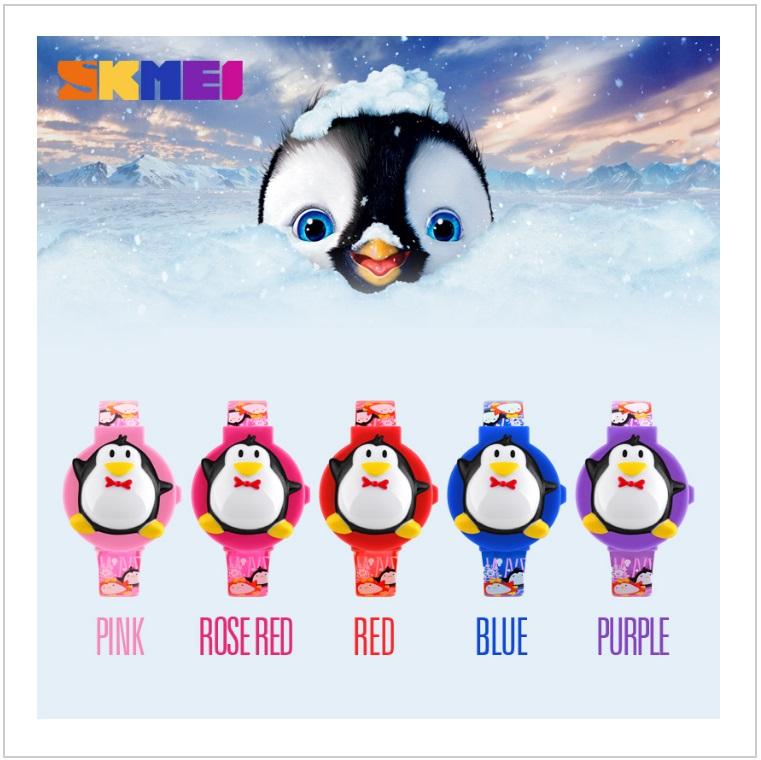 Dětské hodinky - tučňák / tnk-13-02590