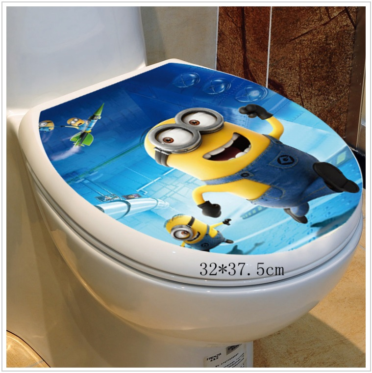 Samolepka na záchodové prkénko - Mimoň / dnk-13-01550