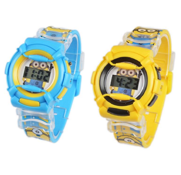 """Dětské hodinky """"Mimoni"""" / nz2d-00002"""