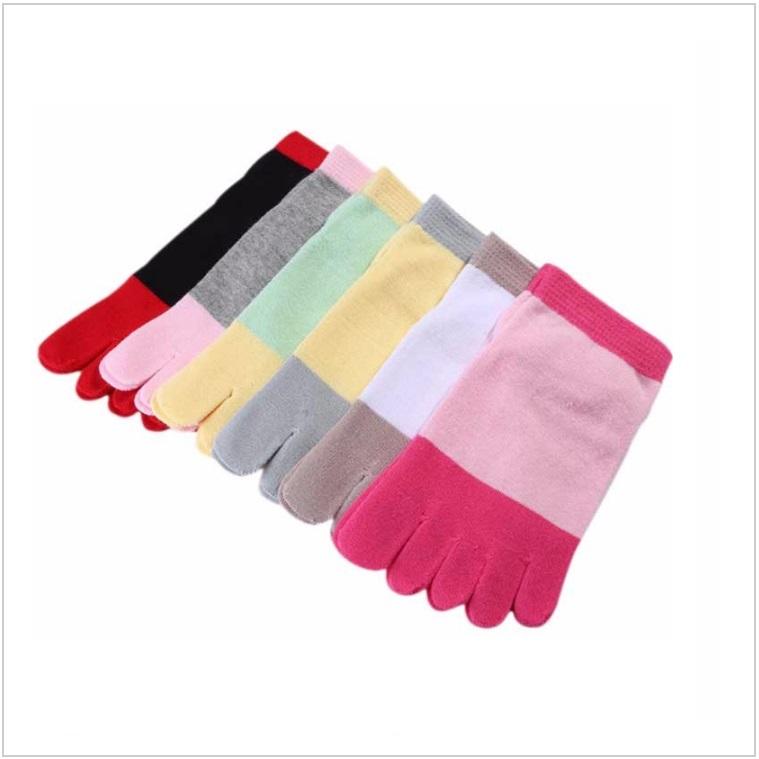 Dámské prstové kotníčkové ponožky / AD-00075