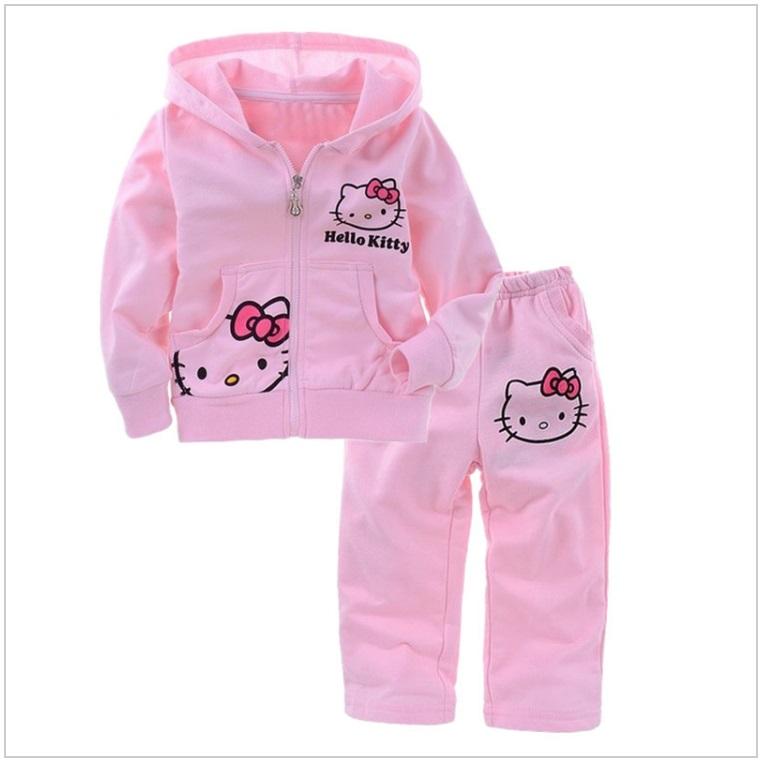 Dětská tepláková souprava - Hello Kitty / AT-00018a