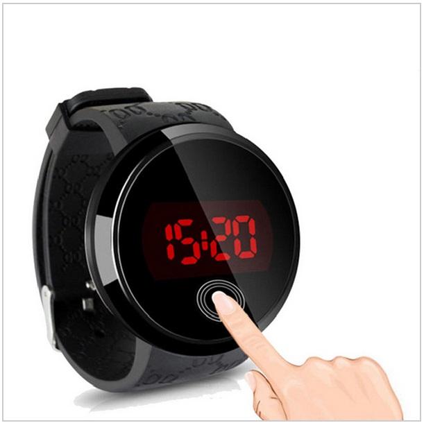 Pánské digitální LED hodinky / nz2m-00007